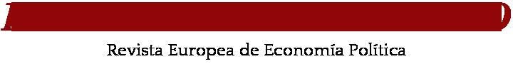 Revista Europea de Economía Política